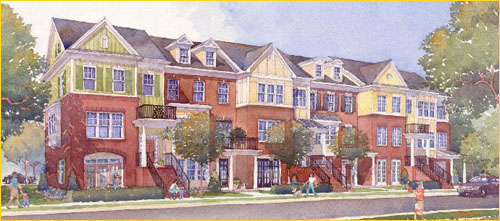 The Regents at Old Mill Village Rendering